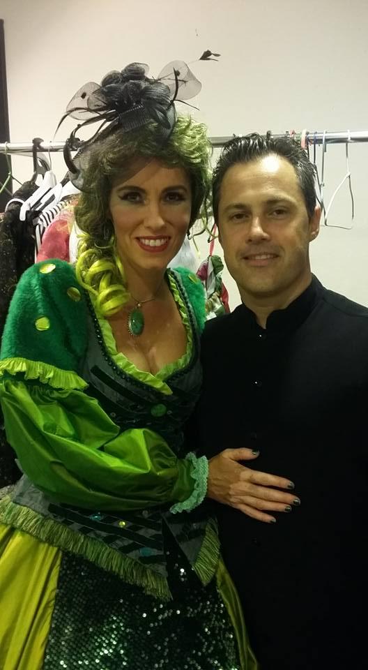 Con la Soprano Elisa Vélez