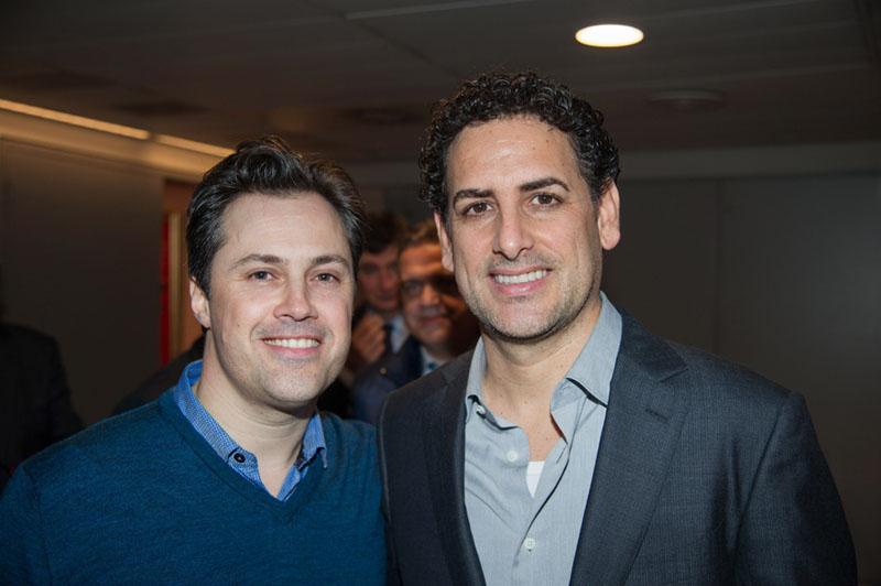 Con el tenor Juan Diego Florez